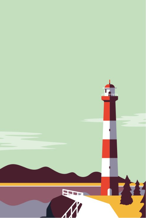 Bonovo Illu Leuchtturm